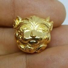 4 Ear 5 Eye Diety Indra Kruba kam Fun Thai Amulet Lucky Attract Money Powerful