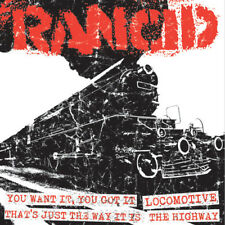 """RANCID - Let The Dominoes Fall #5 - You Want It, You Got It 7"""" LP - SEALED - EP"""