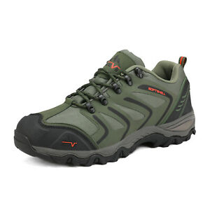 NORTIV 8 Men's Low Top Waterproof Outdoor Hiking Backpacking Work Boots Shoes US