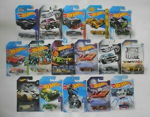HOT WHEELS COLLECTION Bundle of 16 Cars Sealed in Packs Long Card 1