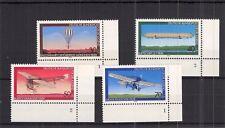 Bund/BRD 1978 Jugend Luftfahrt@Mi 964-967@kompl. Satz Bogenecke + Formnummer **