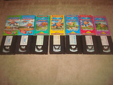 Jay Jay the Jet Plane Vhs Lot Tv Show Series Kids Family Cartoon Educational Set