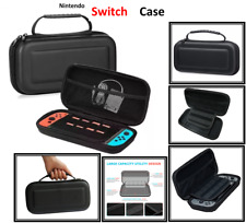 BLACK-Hard Protective (HANDLE) Carry Case Cover For Nintendo SWITCH Console Game