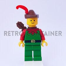 LEGO Minifigures - 1x cas139 cas284 - Forestman - Castle Castello Omino Minifig
