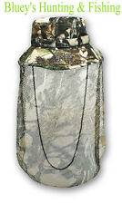 Ridgeline mens DUCK HUNTING Cotton Hat Buffalo Camo with face veil