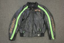 Arctic Cat Conquer The Cold Leather Snowmobile Jacket Men's Large