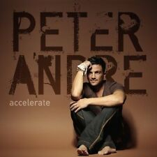 PETER ANDRE Accelerate (2010) UK 11-trk CD album + bonus track BRAND NEW