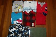 NWT Boys 7 7/8 Gymboree TCP Jumping Beans Chaps 8 Piece Fall Winter Lot