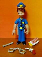 The Simpsons Lou Police WOS Interactive Talking Figure & Accessories Series 7