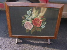 Solid Wood Vintage/Retro Fireplace Screens
