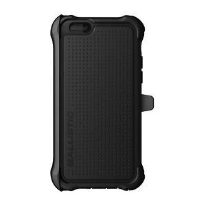 Ballistic Apple iPhone 6 iPhone 6s Black Tough Jacket Holster Belt Clip Case