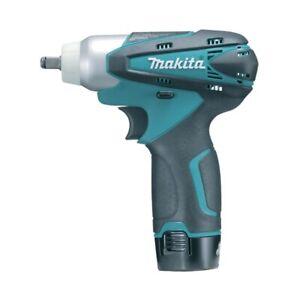 Makita TW100DWE 10.8v Cordless Impact Wrench 3/8 square drive (2 1.3ah batteries