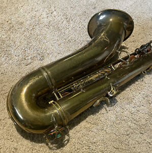1955 Selmer Mark VI Tenor Saxophone Original Lacquer S# 63XXX