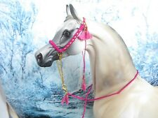 *** F63 - Braided / beaded show halter to fit Peter Stone and similar size