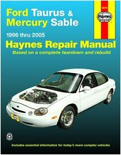 HAYNES REPAIR MANUAL 36075 FORD TAURUS & MERCURY SABLE '96-'05
