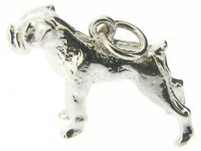 925 Silver Boxer Dog Charm Animal & Insects Traditional no stone j-4-jewellery