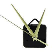 Mouvement Mecanisme Silencieux D'horloge A Quartz Aiguilles Or DIY Rechange Kit
