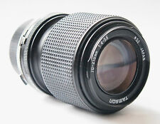 Tamron 70-210mm f/4-5.6 with Olympus OM adaptall 2 mount. stock No. C0645