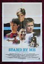 STAND BY ME - ORIGINAL MOVIE POSTER 1986 1SH *RARE INTERNATIONAL VERSION*