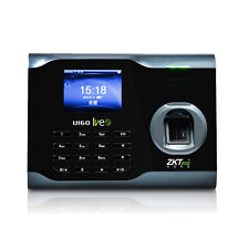 "3"" Zk software U160 Biometric Fingerprint Time Attendance Time Clock Recorder"