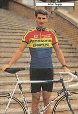 ALLAN PEIPER cyclisme cp carte postale Ciclismo Cycling Panasonic 90