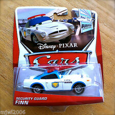 Disney PIXAR Cars SECURITY GUARD FINN 2013 AIRPORT ADVENTURE THEME diecast 4/7
