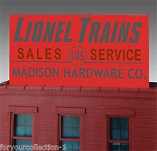 Miller's Madison Hardware Sales n Service Animated Neon Billboard O/HO 88-1011