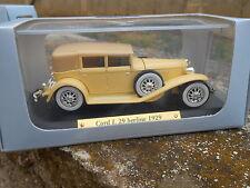CORD L 29 BERLINE 1929- AUTO D'ELITE DE AGOSTINI - SCALA 1:43