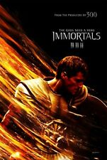 THE IMMORTALS - 27x40 D/S Original Movie Poster One Sheet 2011 HENRY CAVILL