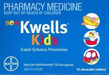 PRICE SMASH 2X12[24] KWELLS KIDS CHEWABLE  FOR TRAVEL, MOTION & SEA SICKNESS