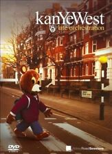 Kanye West - Late Orchestration DVD - REGION ALL BRAND NEW SEALED FREE POST