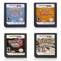 For Nintendo 3DS NDS NDSI Lite Game Card Pokemon Platinum SoulSilver HeartGold