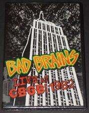 BAD BRAINS live at cbgb 1982 USA DVD new sealed PUNK ROCK