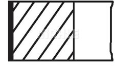 Kolbenringsatz NEU MAHLE ORIGINAL (012 33 N0)