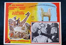"""DR DOLITTLE"" REX HARRISON SAMANTHA EGGAR MEXICAN LOBBY CARD 1967"