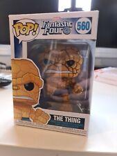 Funko Pop Vinyle Marvel La Chose Les 4 fantastiques Bobble Head figurine #560