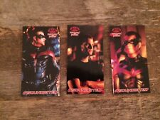 3 Chris O'Donnell Batman & Robin trading Cards