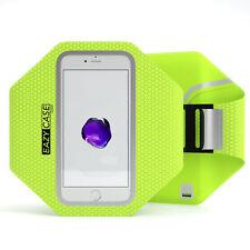 Universal Sport Handy Armtasche Jogging Smartphone Fitness Arm Band Grün