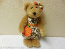 "NWTMWT! Boyds Bears ""PRISSY PUNKINBEARY"" BEAR Fall Autumn Plush #4028319"