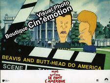12 Fotos Cine 21x27.5cm (1996) Beavis Et Butt-Head Se Font AMÉRICA