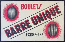 LOT de 2 BUVARDS PUBLICITAIRE CHARBON BOULETS ANGLAIS BARRE UNIQUE