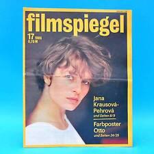 DDR Filmspiegel 17/1986 Otto Waalkes Kirk Douglas Michele Placido C. Harfouch N