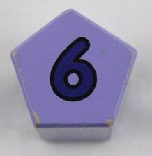 Melissa And Doug Shape Sorting Clock Replacement Piece #6 Purple Pentagon