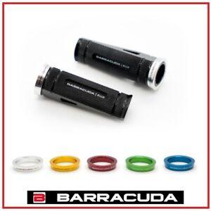 Set Marchepieds Avant + Attaques HF123-F BARRACUDA Moto Honda Couleur Noire