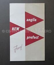 Genuine Vintage 1953 Ford 100E New Anglia & Prefect Sales Brochure