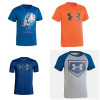 New Under Armour Little Toddler Boys Printed Shirt Choose Size and Color