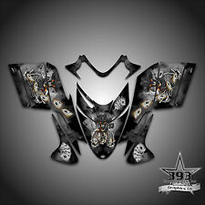 Polaris IQ RMK Shift Dragon Graphics Decal Wrap 2005-2012 Cowboy Outlaw Black