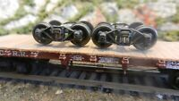 Central Valley HO Old Time Archbar Trucks, Used, Excellent