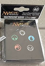 Ultra Pro Magic the Gathering: Mana Series 5 Symbols Deck Protector Sleeves (80)