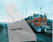 WP F7 #803A, California Zephyr,  Oct. 1969, 8X10, Photo
